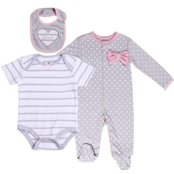 3 Pc Layette Set | 0 - 3M
