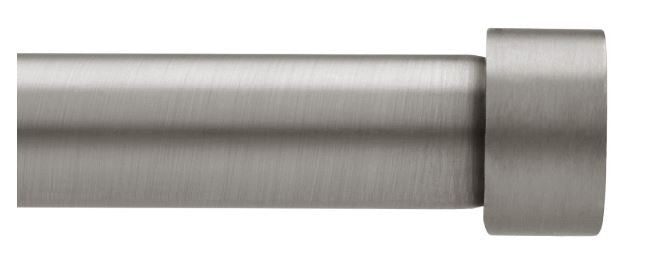 Cappa Curtain Rod Pewter