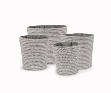 Coil Rope Pot Covers - Madison Mackenzie Home