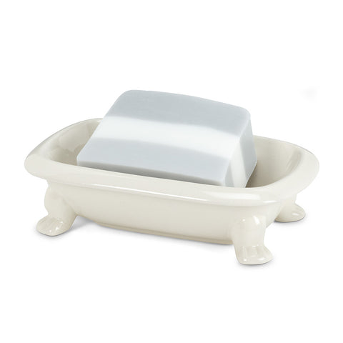 Ivory Bath Tub Soap Dish