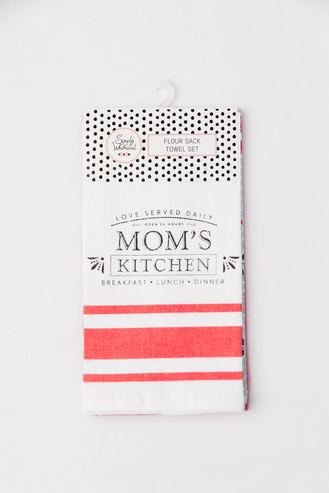 Mom's Kitchen Towel Set