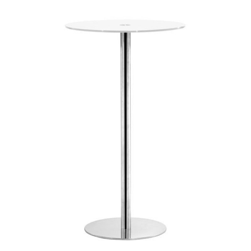 Cyclone Bar Table White