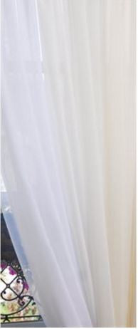 "Sheer curtains 60 x 84"" - Madison Mackenzie Home"