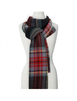 Plaid Unisex Scarf