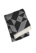 Milano Black Throw