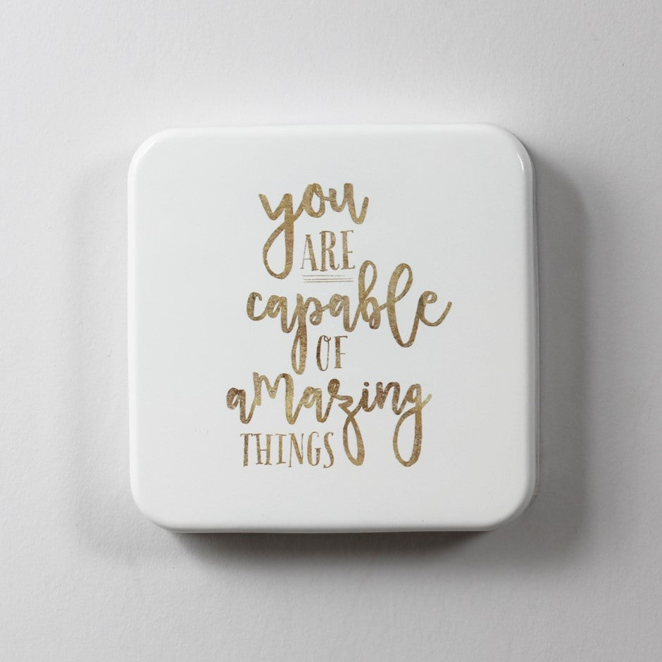 You Are Capable Wall Tile