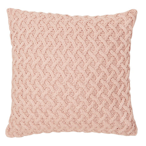 Beatrice pink cushion 18 x 18