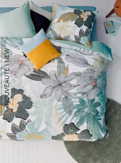 Botanical Duvet Cover Set - Double/Queen
