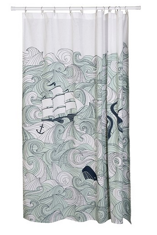 Odyssey Shower Curtain Madison Mackenzie Home