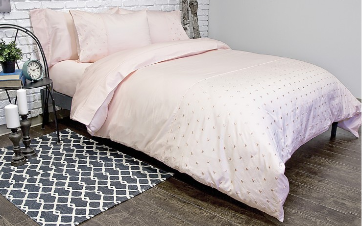 Jubilee Blush Duvet Cover - Madison Mackenzie Home