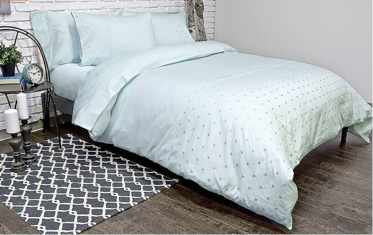 Jubilee Aqua Duvet Cover - Madison Mackenzie Home