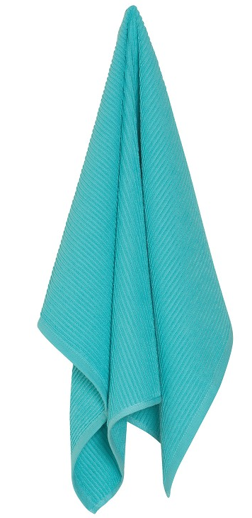Bali Blue Ripple Dishtowel - Madison Mackenzie Home