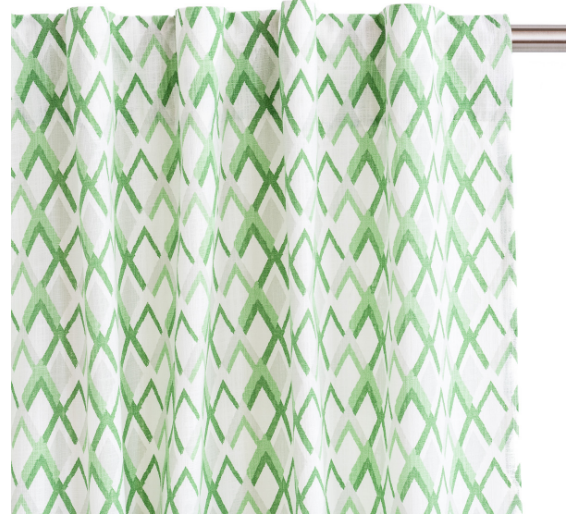 Grass Peaks Drapery Panels, Set of 2 - Madison Mackenzie Home
