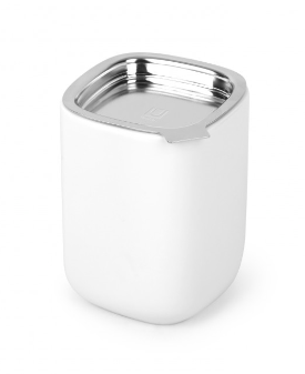 Cutea Tea Canister - White