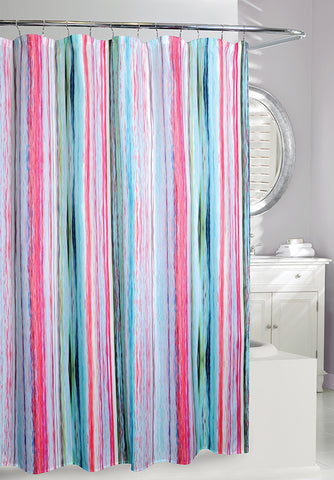 Glisten Fabric Shower Curtain