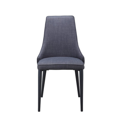 HAZEL DINING CHAIR DARK GREY