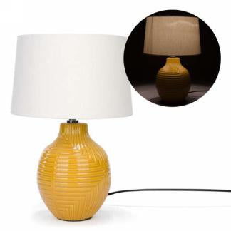 Yellow Base Lamp