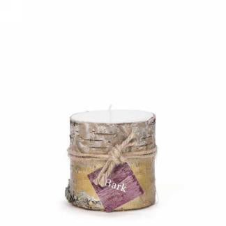 "3"" gold bark candle"