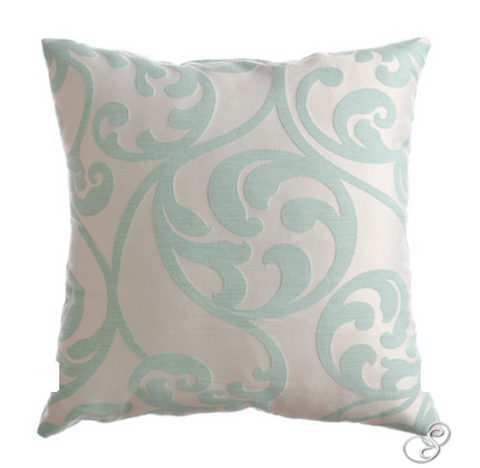 Mila Cushion Seafoam