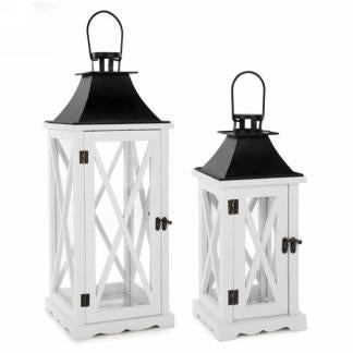 Lantern White and Black