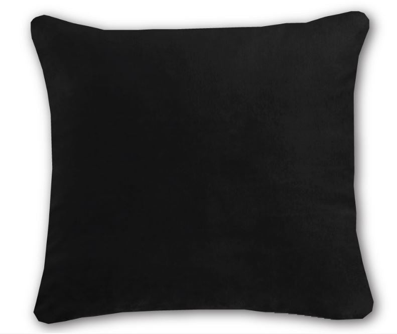 Langtry Black Cushion 18""