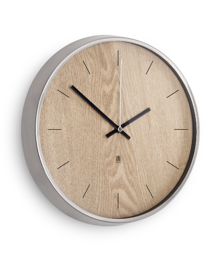 Madera Wall Clock - Natural