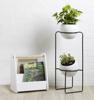 Nesta Tiered Planter - White