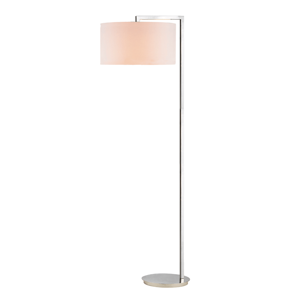 Polished Nickel Floor Lamp