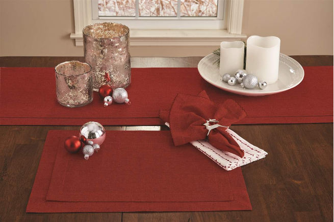 Tailored Table Runner