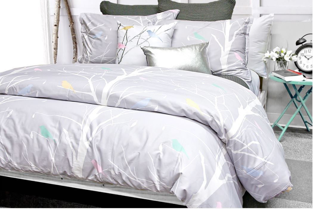 Silhouette Duvet Cover Min Set Double/Queen