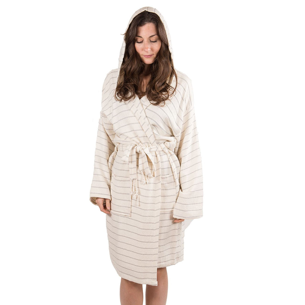SERENITY - BAMBOO BATH ROBE - MIST LINED