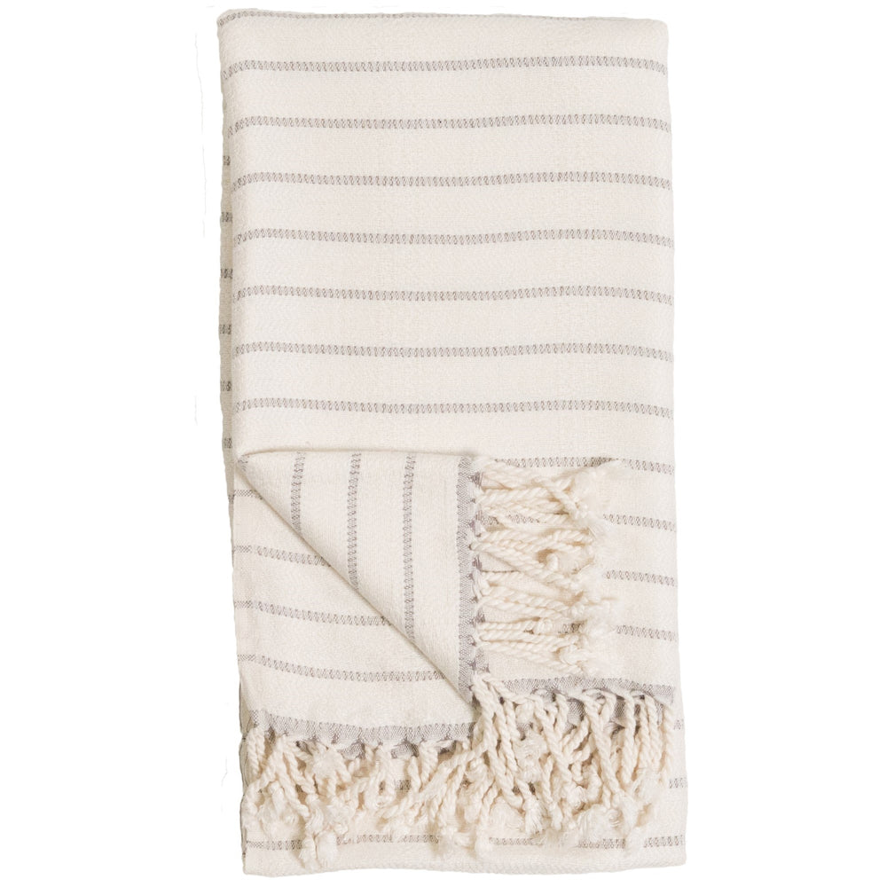 Body Towel - Bamboo Striped - Mist