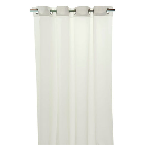 Sheer Curtain 60x84' Off White w/Grommet Tops