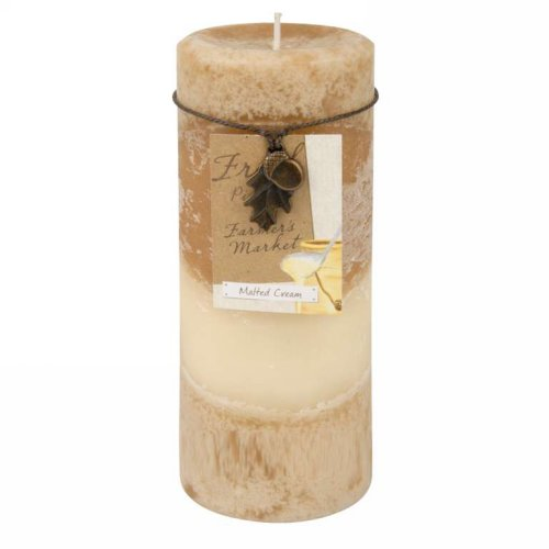 Caramel col. candle - Malted Cream
