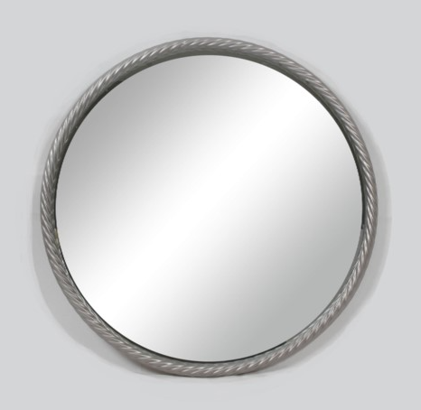 Telmo Metal Rd Wall Mirror