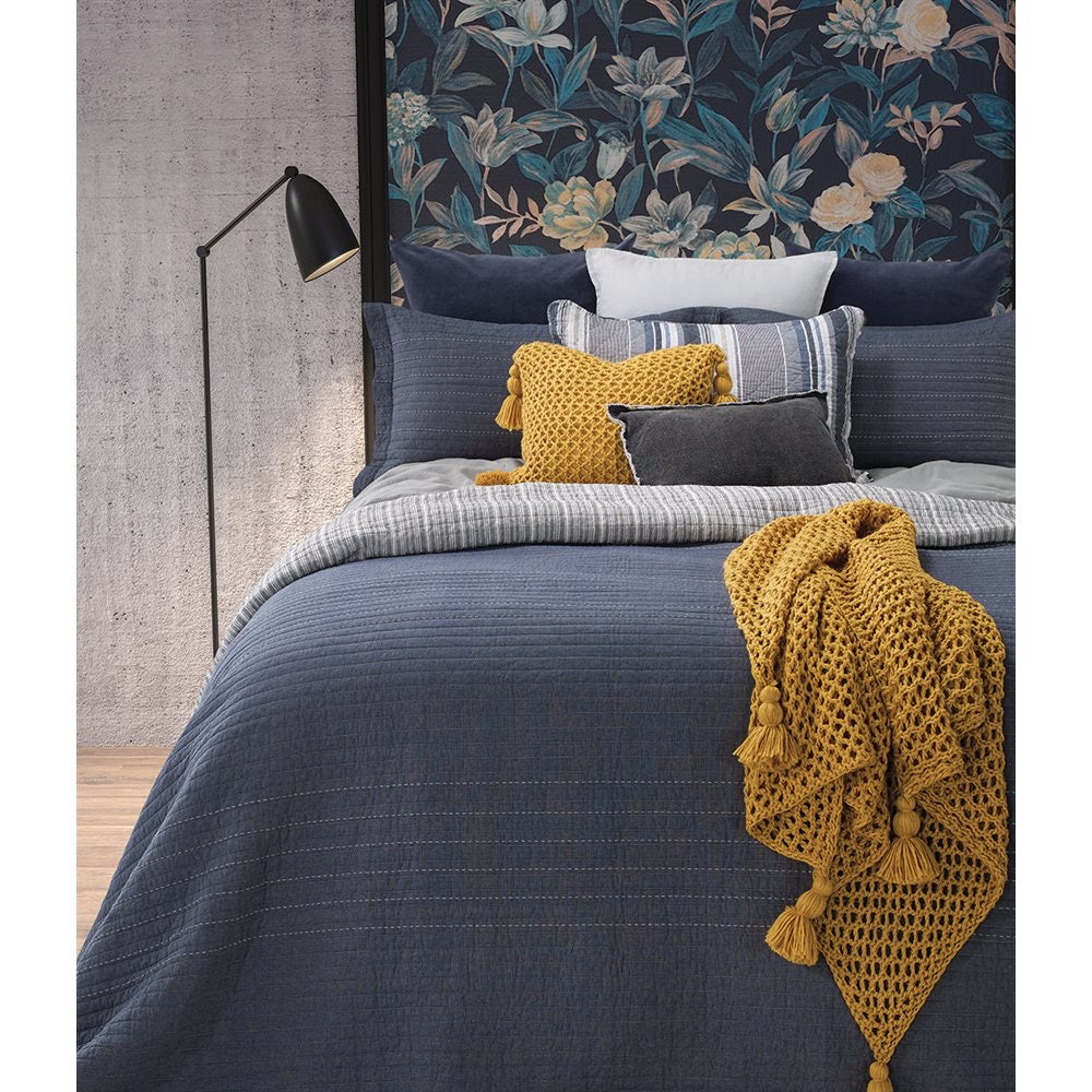 Eloi Blue Jeans Coverlet