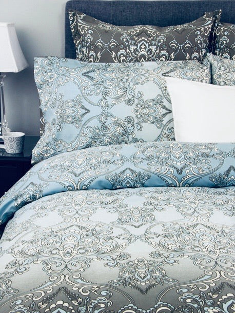Damask Duvet Set