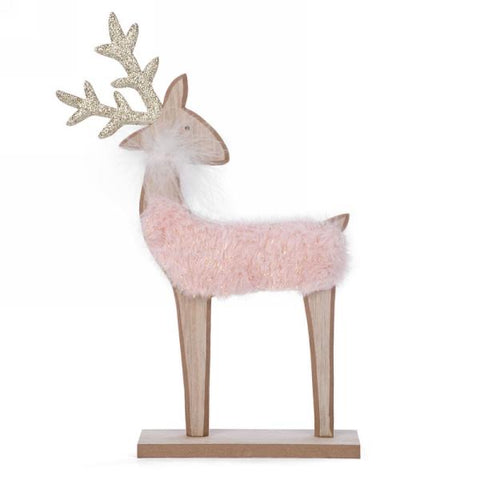 Faux fur deer