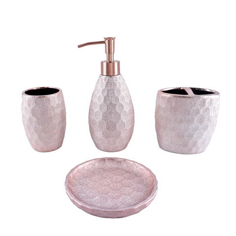 Pink Fleur Bath Collection