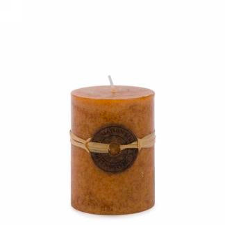"Amber 3.5"" sandalwood scented candle"