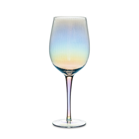 Optic Glass Stemware