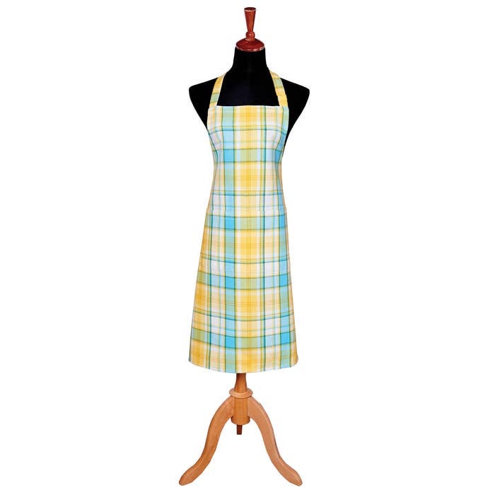 Fresh Plaid Apron