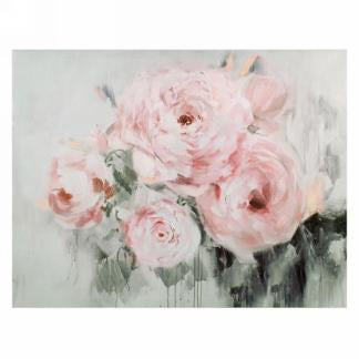 Pink Peonies Canvas