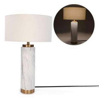 Marble and Gold Lamp