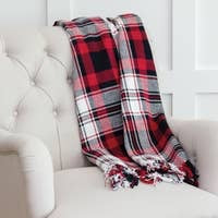 Fireside Plaid Throw