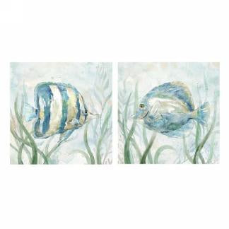 Blue Fish Canvas - 2 styles