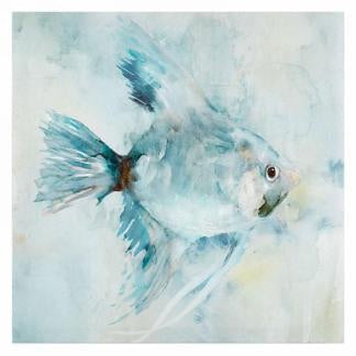 Blue Fish Canvas