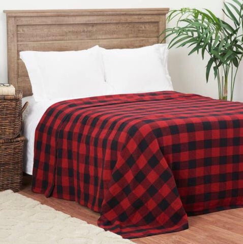 Buffalo Check Coverlet