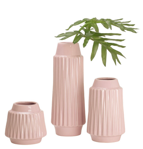 Ella Faceted Vase Collection