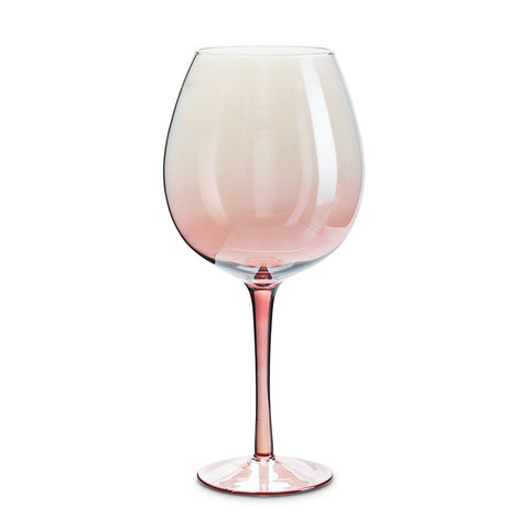 XLG Pink Iris Goblet -